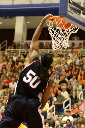 Dunking with Braids